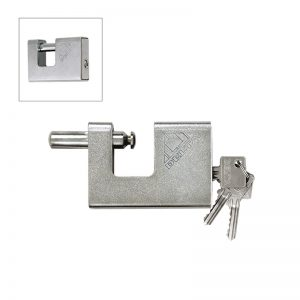 Steel Coated Book Lock 98 Mm